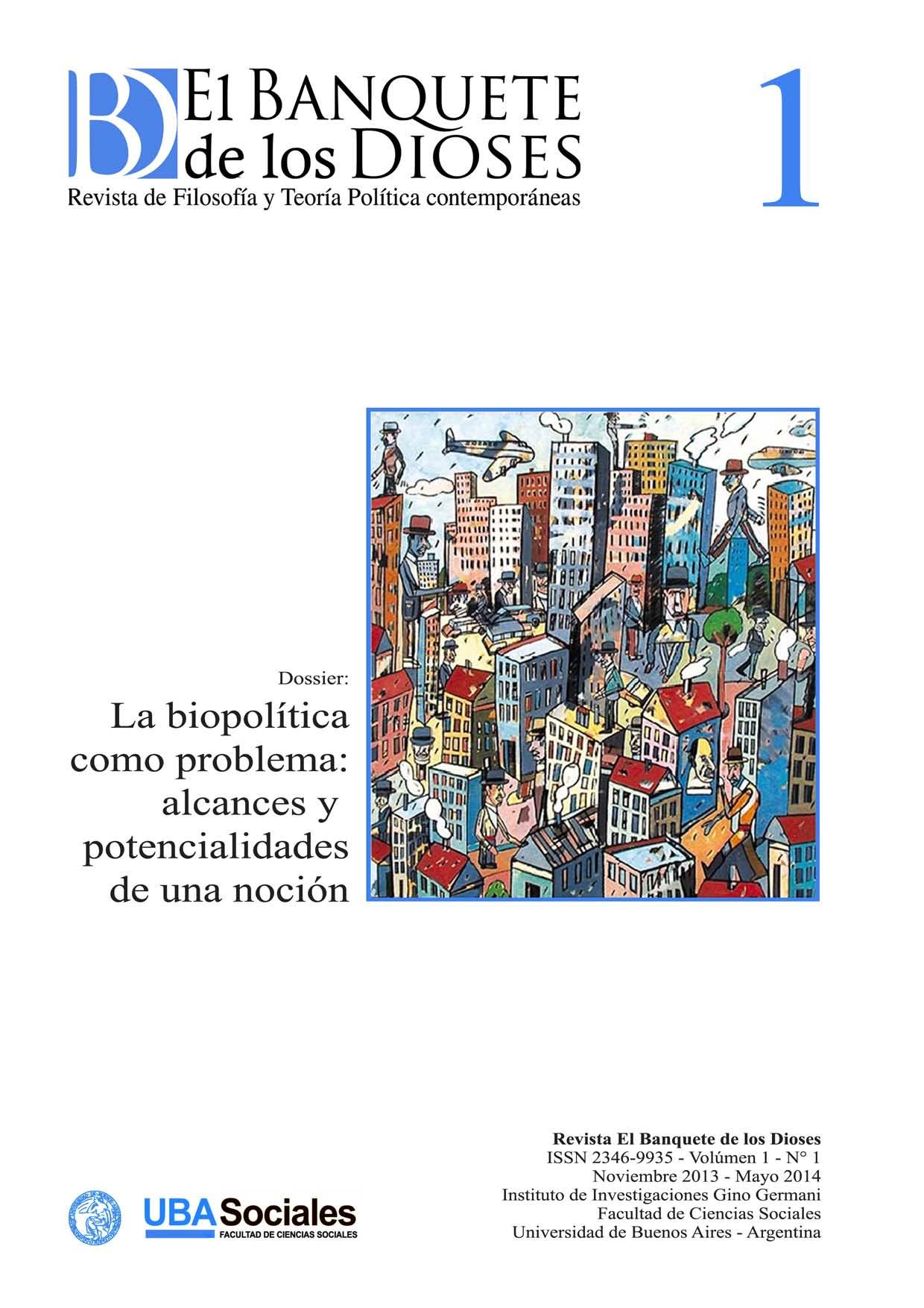 La legibilidad de la biopol�tica en Rodolfo Walsh
