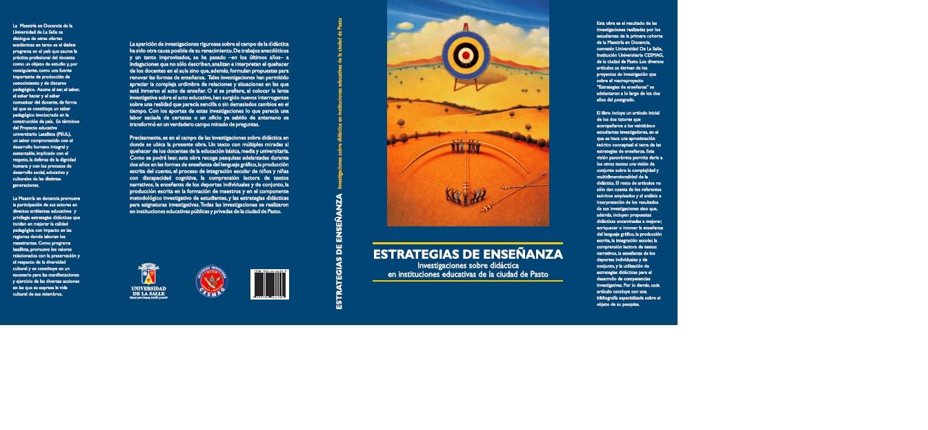 Estrategias de enseñanza : investigaciones sobre didáctica en instituciones educativas de la ciudad de Pasto