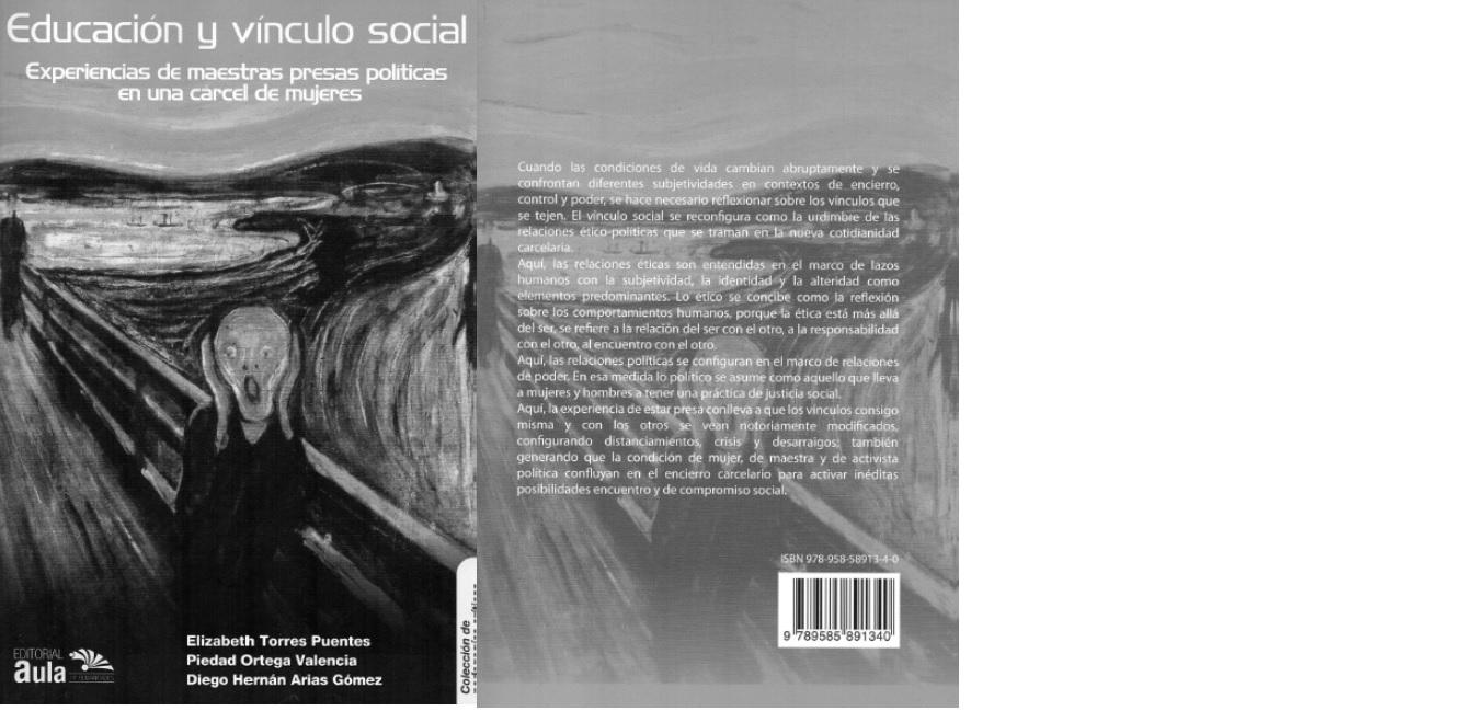 Educación y vínculo social : experiencias de maestras presas políticas en una cárcel de mujeres