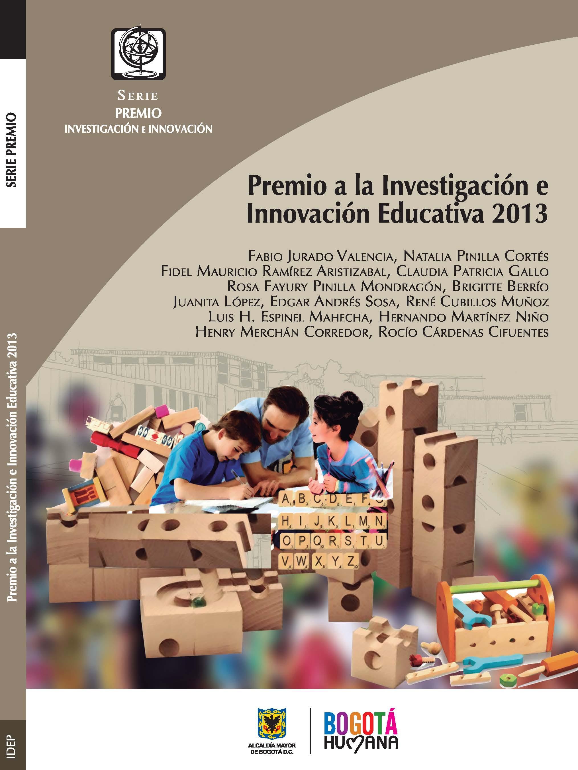Premio a la investigaci�n e innovaci�n educativa y pedag�gica 2013