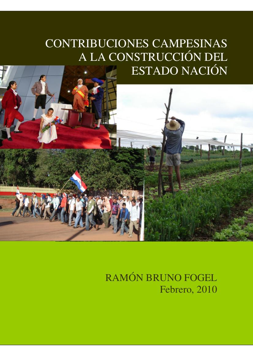 Contribuciones campesinas a la construcción del Estado Nación