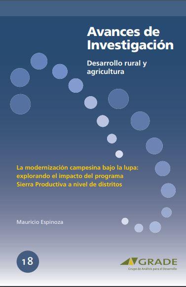 La modernización campesina bajo la lupa: explorando el impacto del programa Sierra Productiva a nivel de distritos