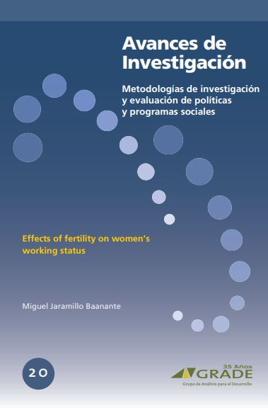 Effects of fertility on women`s working status