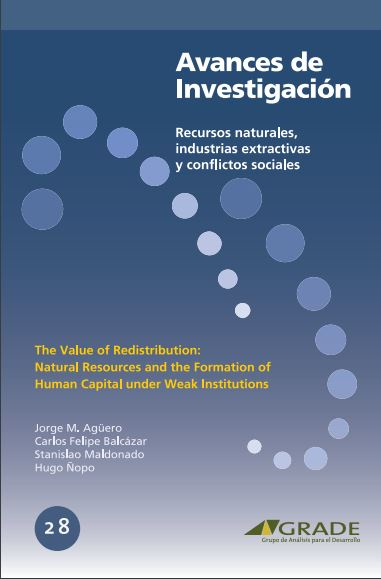 The value of redistribution: natural resources and the formation of human capital under weak institutions