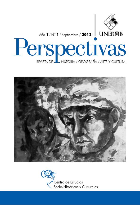Perspectivas. Revista de historia, geografía, arte y cultura (Año 1 no. 1 ene-abr 2013)