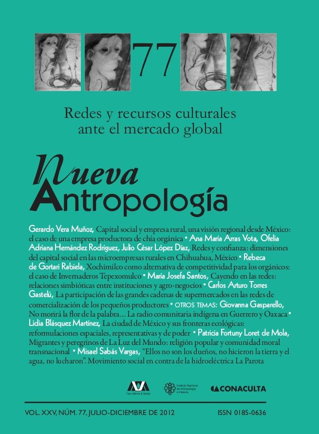 Xochimilco como alternativa de competitividad para los org�nicos: el caso de Invernaderos Tepexomulco